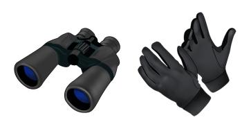 Binoc & Gloves