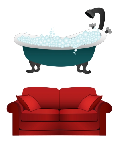 couch tub