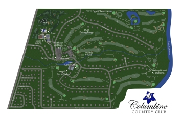 Course Map for Columbine Country Club