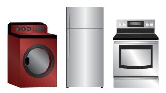 fridge stove washer