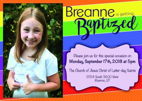 Baptism Invite copy